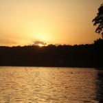 Sonnenuntergang am Schlachtensee
