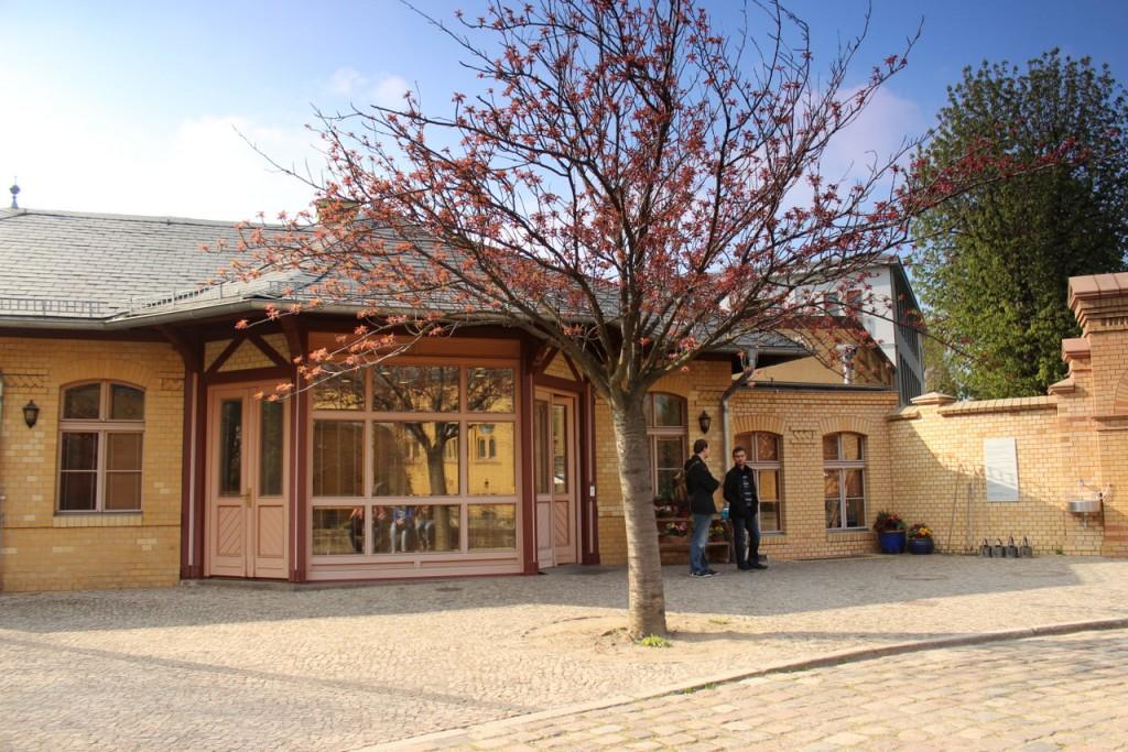 Jüdischer Friedhof Berlin Weißensee - Eingangsbereich