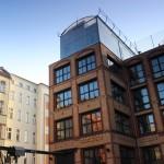 Wohnen im Gewächshaus auf einem Dach in Berlin-Wedding