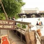 Holzmarkt & Mörchenpark am Spreeufer - ehemaliges Bar25 Gelände