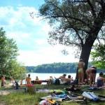 Sacrower See - sehr sauber & klar! - Platz 4 der Top 5 Badeseen Berlin
